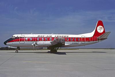 Dan-Air London (Dan-Air Services) Vickers Viscount 839 G-BGLC (msn 436) CDG (Christian Volpati). Image: 907038.