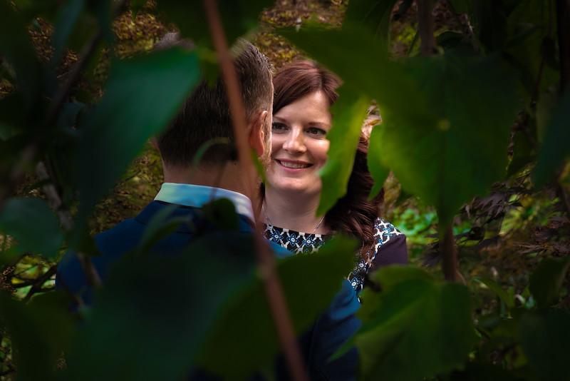 bride smile green leaves backlit plantation garden