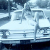 """Ahhh - my first car (when I was just 15 years old) - a '63 Corvair!!  Anyone drive with me & remember me filling the gas tank up (which it was in the FRONT of the car.  Gas was like 90¢/gallon) & going fast & making a sudden stop & doing """"Donuts"""" at the stop sign??  I know - crazy driver (I still am!!)"""
