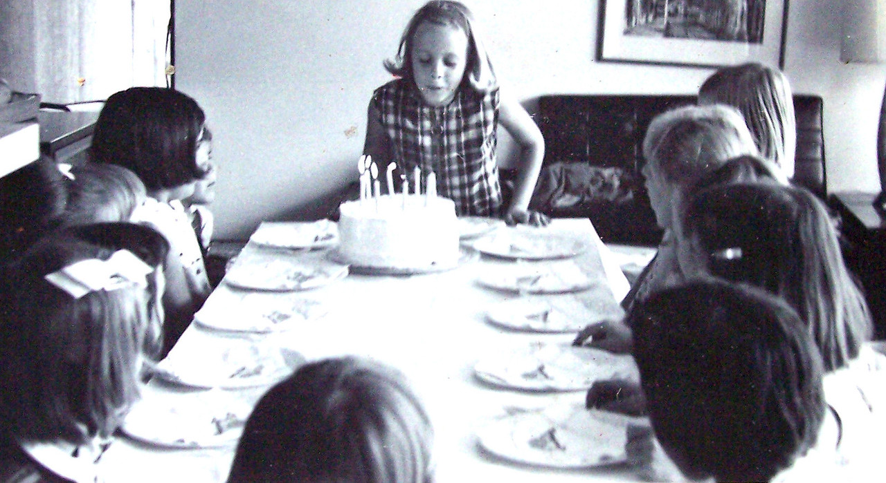 Vicki Skinner's 7th or 8th birthday party