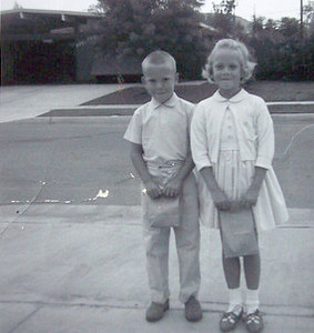 1st day of school ('64)