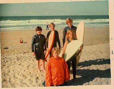 L-R:  Cousin David, Bill Skinner, Michael Skinner.  Bottom:  JB Skinner, Derek Roysdon