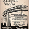 The Monorail at Disneyland<br /> (Shared from:  Jeff Powell)