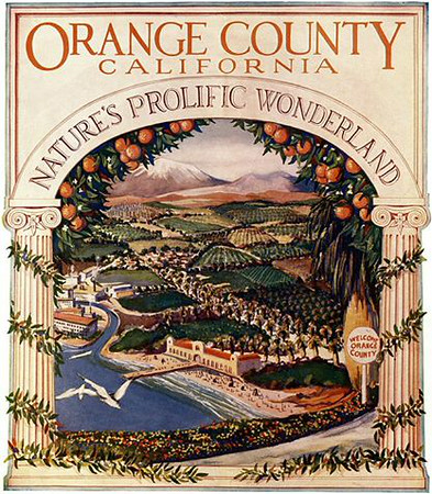 Orange County Brochure cover, 1926 (Shared from:  Jeff Powell)