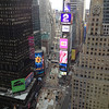 View from JB & Uncie/Bob Skinner's room at the Marriott Marquis Hotel Time Square<br /> .