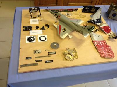 Jet Crash Site - Captain Wilbur Eugene Skinner - Bill Skinner - August 18, 1963 - U.S. Marine Corps