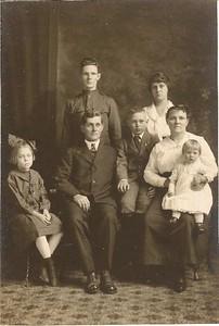 John & Florence Pratt family.
