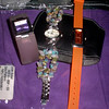 WATCHES - Purple Wide Bracelet watch <br /> REDUCED FOR QUICK SALE - $10 (was LOTS more.  Used $20).  <br /> <br /> COOL Crystal bracelet watch (NEW) <br /> REDUCED FOR QUICK SALE - $40 (was $50)<br /> <br /> FUN Orange plastic watch (NEW)<br /> REDUCED FOR QUICK SALE - $20<br /> <br /> (all need new batteries)