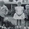 Michael Skinner, JB Skinner, Bruno, Vicki Skinner, Bill Skinner - Beaufort, South Carolina - July 1963 (1 month before daddy died in a military jet crash)