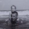 Vicki Skinner & Wilbur Eugene Skinner - Daddy Bill Skinner  -  September 1962 - Beaufort, South Carolina