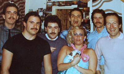 Vicki Skinner, THE ORIGINAL SARONG GODDESS with Paul Schwartz, Mark Roche, Brian Vouglas - San Francisco 1981