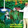 """Big Mike"" - Michael Forbes - in front of his Big Mike's Supper Club & Guest House - Escazu, Costa Rica"