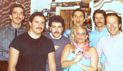 Brian Vouglas & Vicki Skinner, Paul Schwartz & Philip R Gomez - San Francisco days!  1981