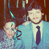 "Albert Cisneros & me - Vicki SKinner (hair slicked back in my Dynasty more ""sophisticated"" look), ???, & Tricia Cowden"