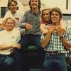 Per Nordquist, __, ____, Karlu Werner (middle), Vicki Skinner, & Swedish actor•comedian Mikael Tornving - San Francisco, California around 1982