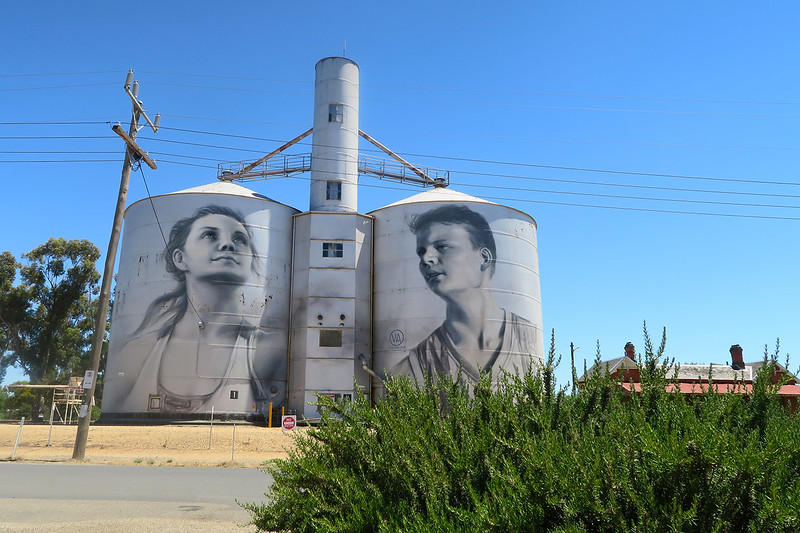 painted silos victoria
