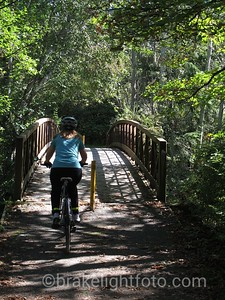 Biking Colquitz Trail