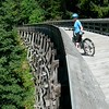 Biking trestle at Sooke Potholes
