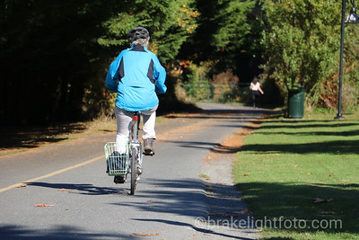 Biking on Galloping Goose Trail