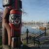 Totem Pole in the inner harbour