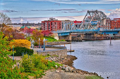 The Old Blue Bridge