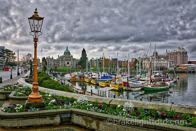 Downtown Victoria and Inner Harbour