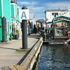Fisherman's Wharf in Victoria, BC