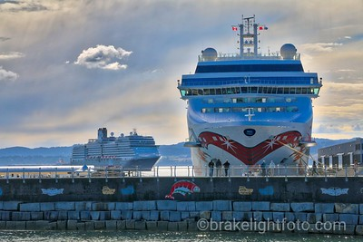 Cruise Ships at Ogden Point