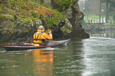 Kayaking on the Gorge Waterway