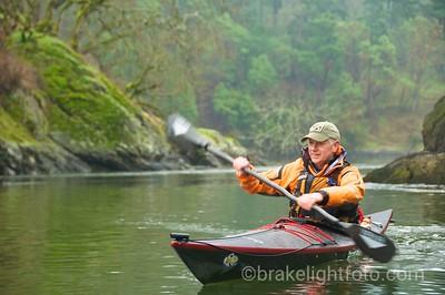 Kayaking on the Gorge Waterway