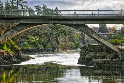 The Tillicum Bridge & Gorge Narrows