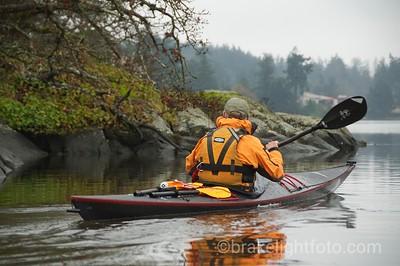 Kayaking Portage Inlet