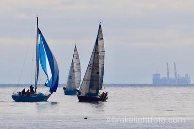 Sailing off Esquimalt Lagoon