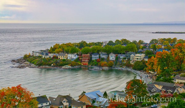 Fall Colours at Gonzales Bay