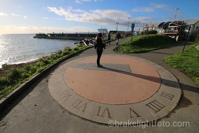 Sidewalk Sundial