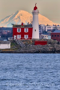 Fisgard Lighthouse & Mt Baker