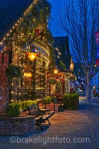Oak Bay Christmas Street