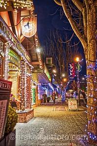 Oak Bay Christmas Street
