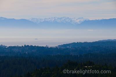 Juan de Fuca view from Observatory Hill