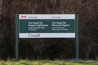 Fort Rodd Hill Sign
