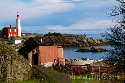 FIsgard Lighthouse and Search Light Building