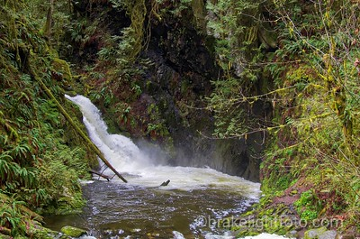 Goldstream River Waterfall