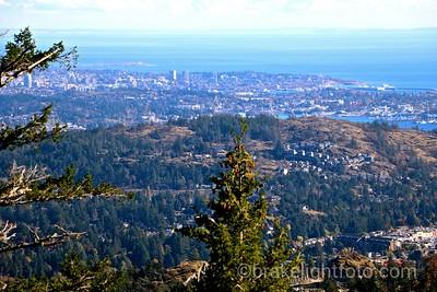Mt. Finlayson Views of Victoria