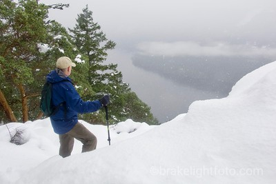 Gowlland Todd Winter Hike