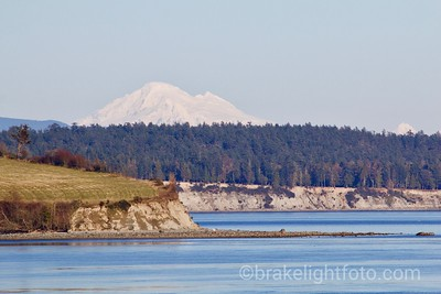James Island, Sidney Island and Mt. Baker