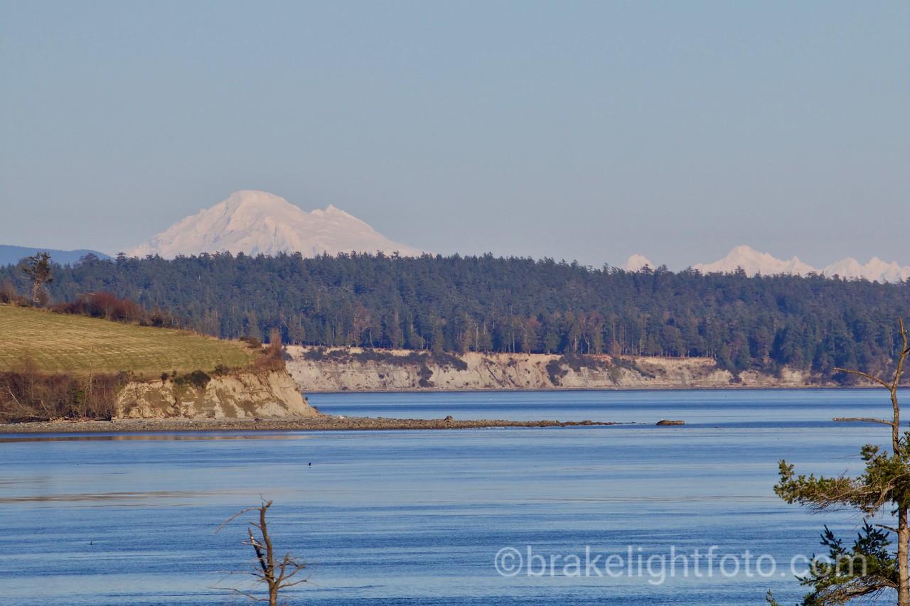 James Island, Sidney Island and Mt. Baker