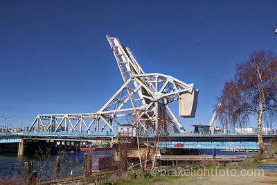 Old Blue Bridge & New Bridge