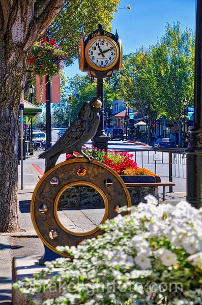 Oak Bay Clock