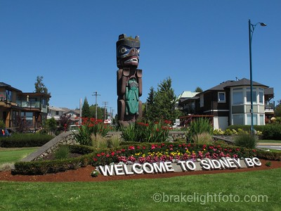 Sidney Welcome Sign