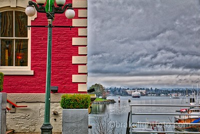 Old Victoria Customs House & Inner Harbour